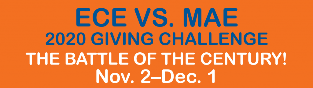 ECE VS. MAE, 2020 Giving Challenge, The battle of the Century!, Nov. 2-Dec. 1